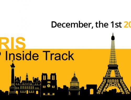 Première édition du SAP Inside Track Paris 2017 – Envie de venir avec nous?