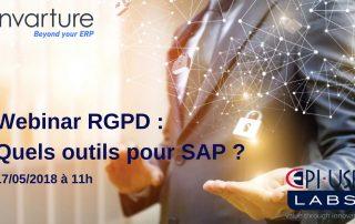 Webinar RGPD Quels outils pour SAP