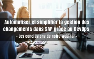 Rev-Trac DevOps SAP webinar