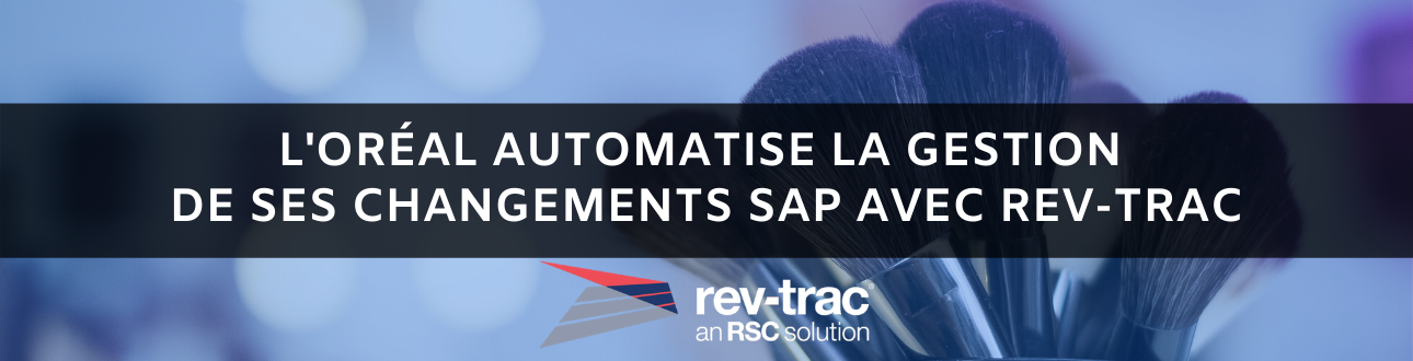 automatisation changements SAP